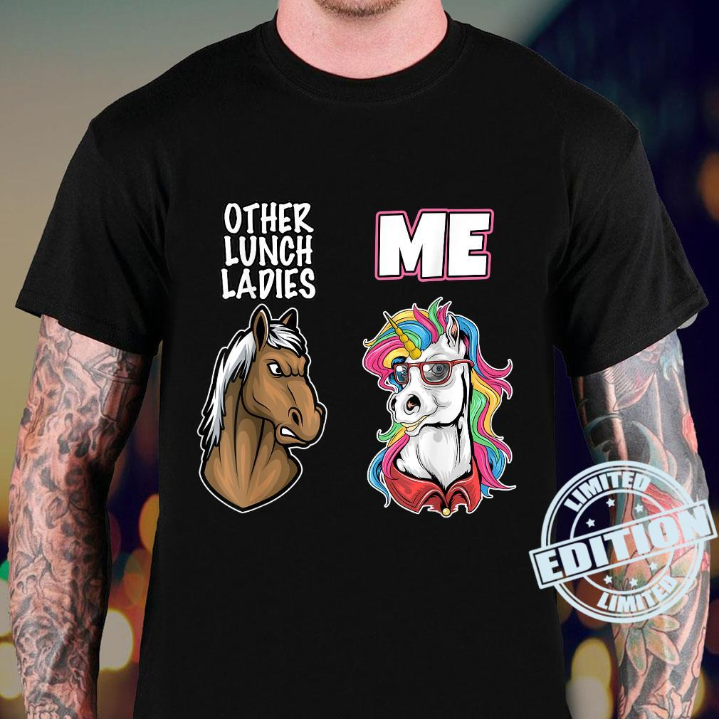 Back to School Lunch Lady Cafeteria Worker Cool Ladies Shirt sweater