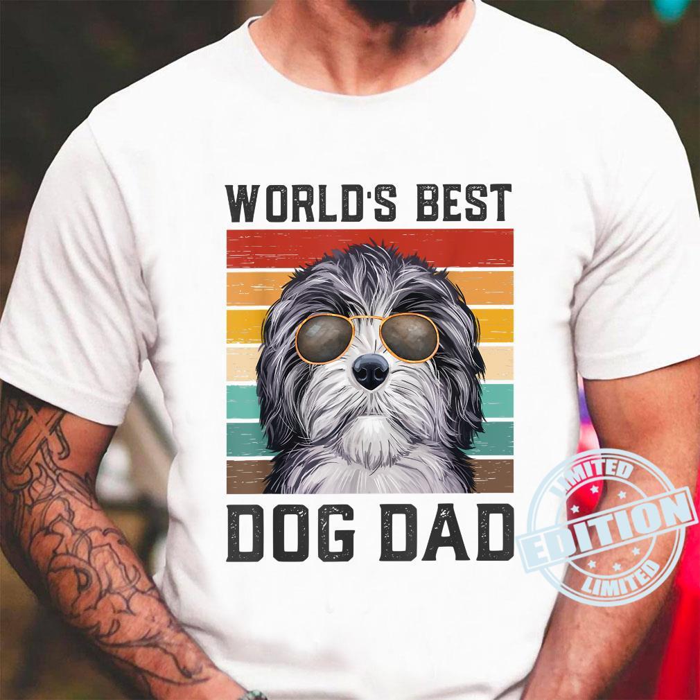 Best Dog Dad Vintage Doxiepoo Shirt