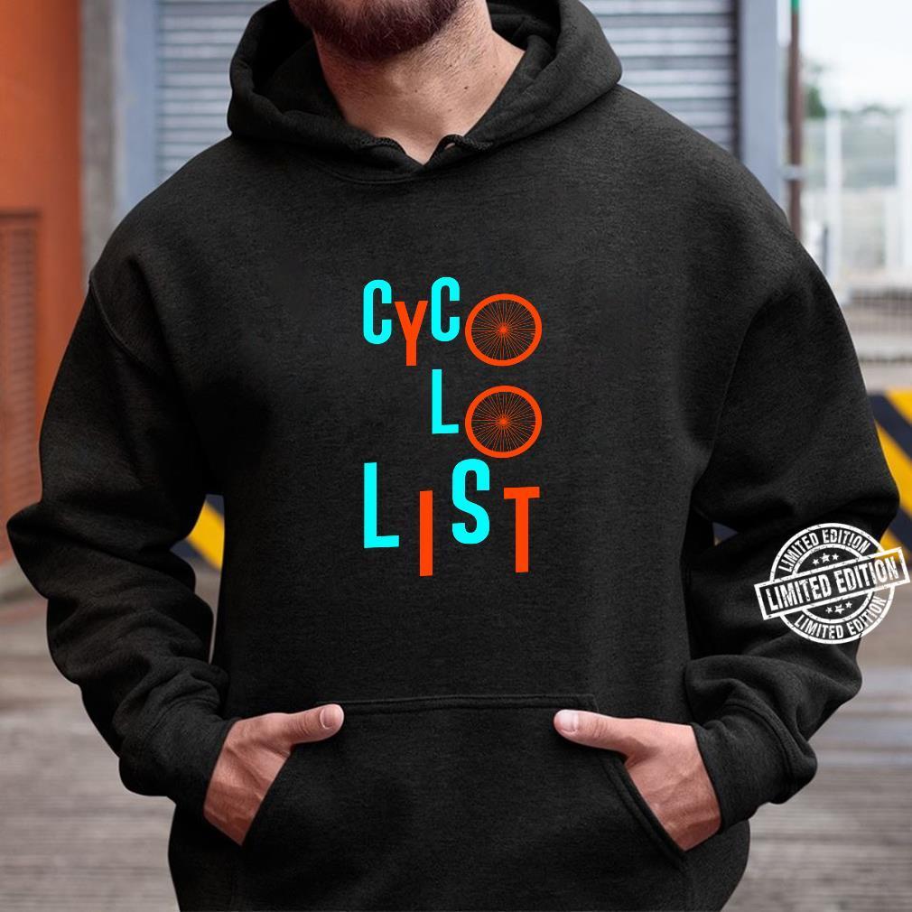Cycologist Biker Shirt hoodie