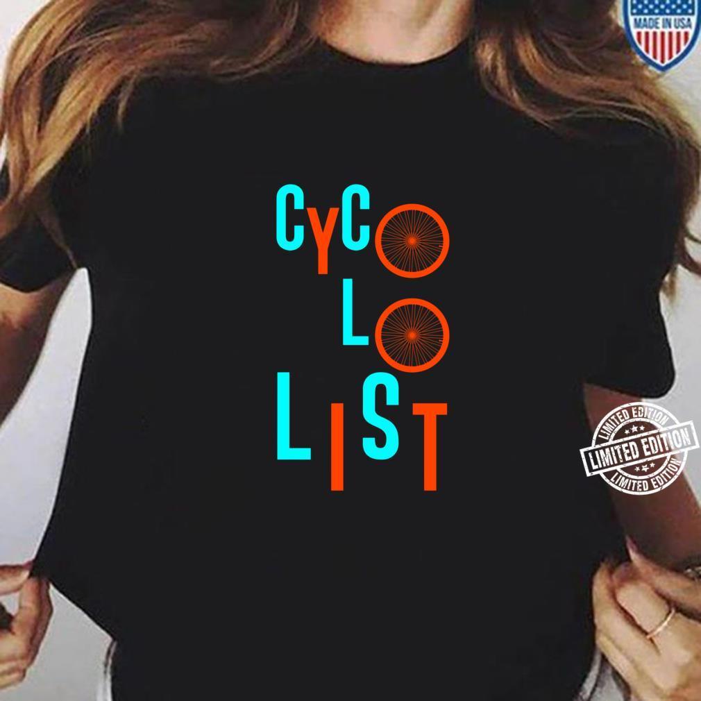 Cycologist Biker Shirt ladies tee