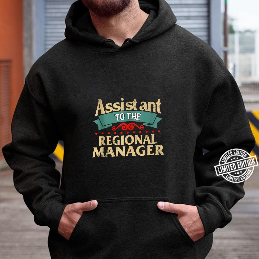 Daddy and Me Matching Assistant to Regional Manager Dad Son Shirt hoodie