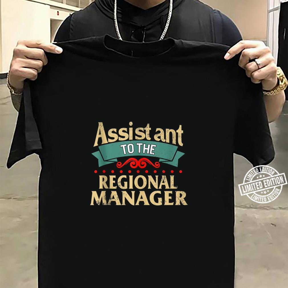 Daddy and Me Matching Assistant to Regional Manager Dad Son Shirt sweater