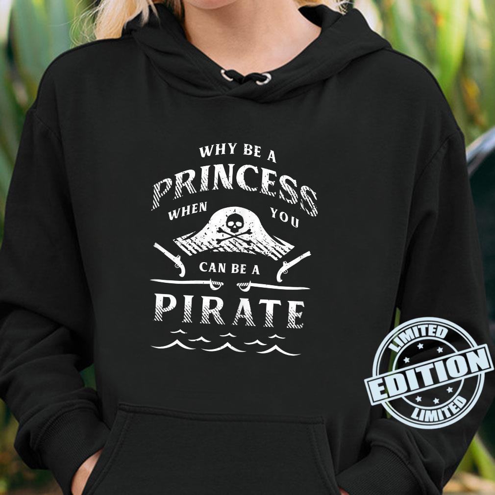 Damen Lustiges PiratenAbenteuershirt für Freibeuter Shirt hoodie