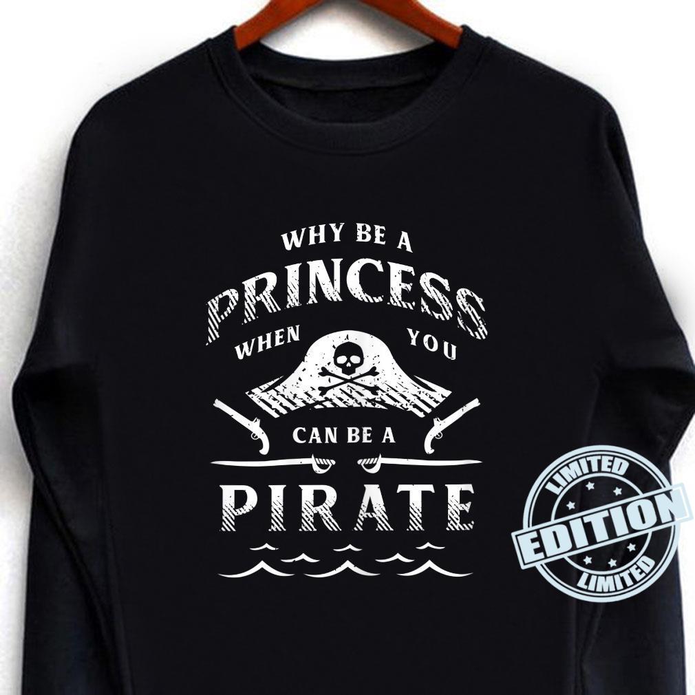 Damen Lustiges PiratenAbenteuershirt für Freibeuter Shirt long sleeved