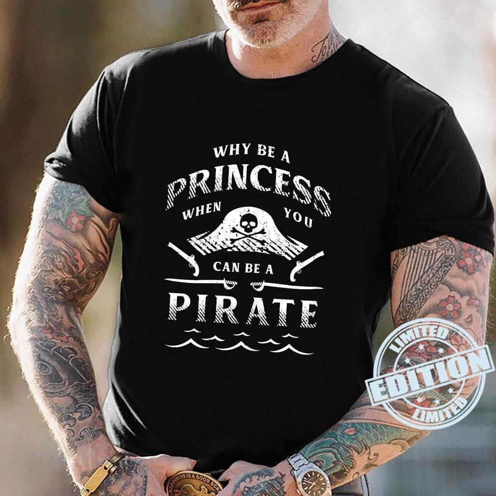 Damen Lustiges PiratenAbenteuershirt für Freibeuter Shirt