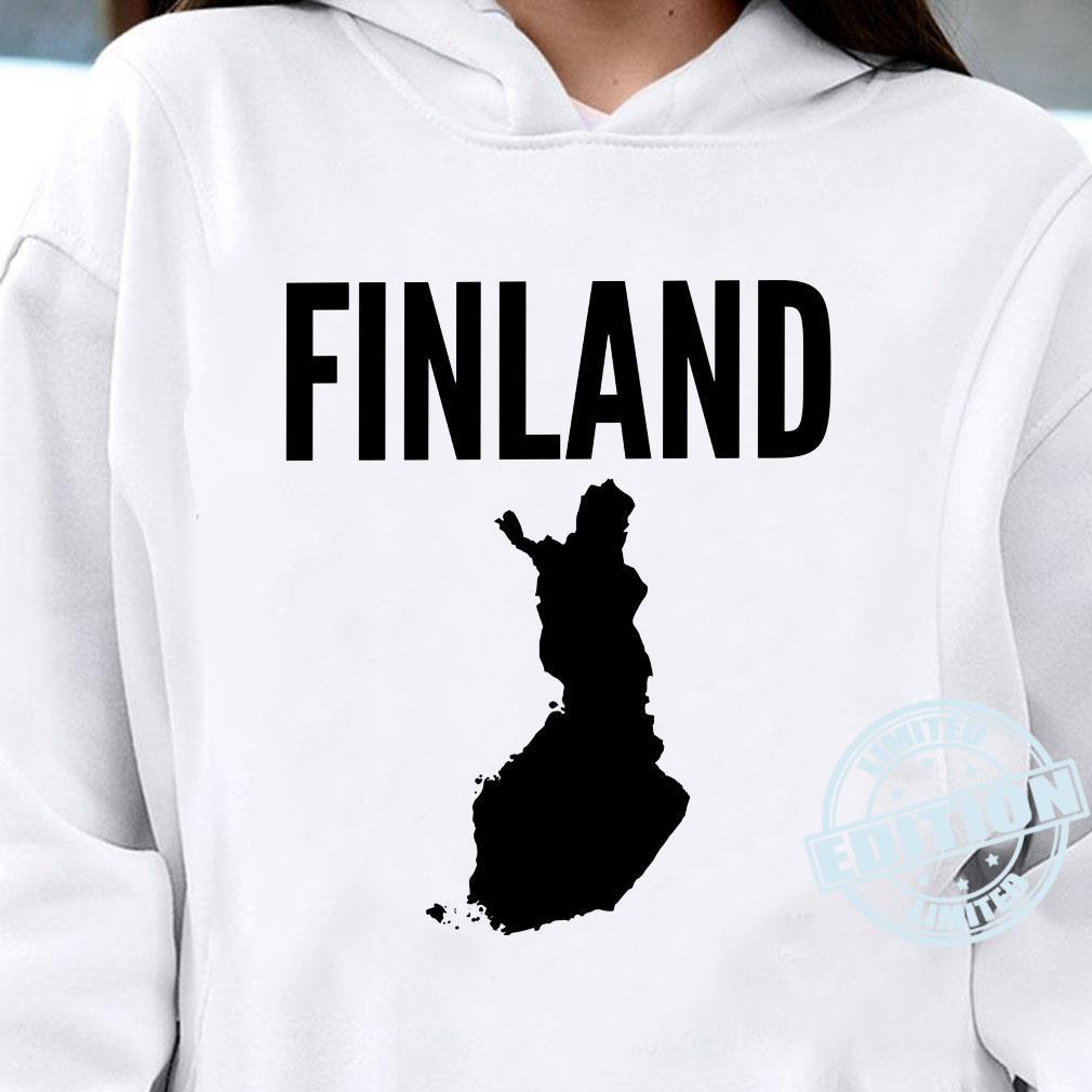 Finnland Finnisch Langarmshirt Shirt hoodie