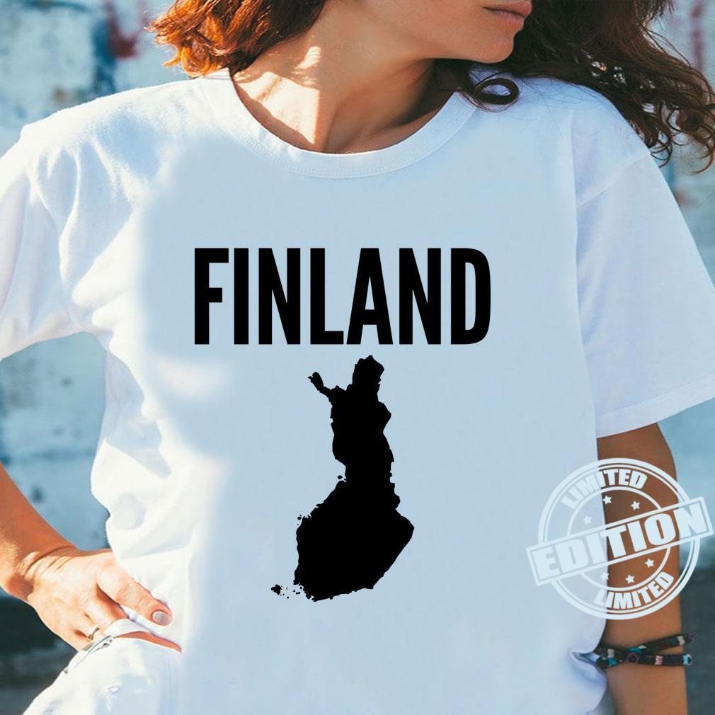 Finnland Finnisch Langarmshirt Shirt ladies tee