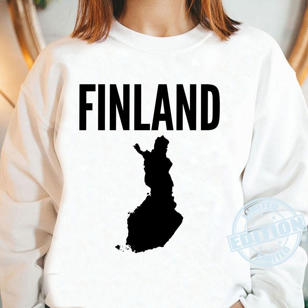 Finnland Finnisch Langarmshirt Shirt long sleeved