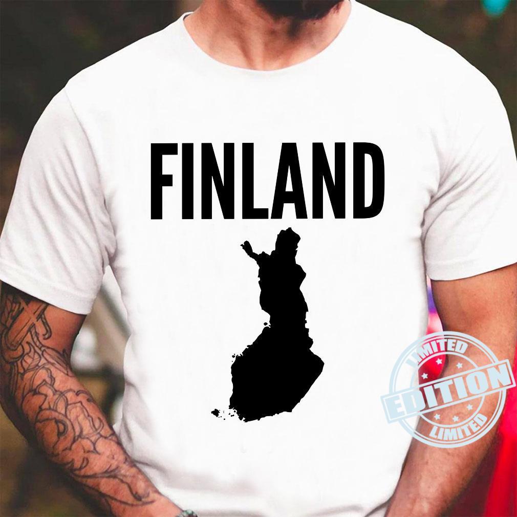 Finnland Finnisch Langarmshirt Shirt