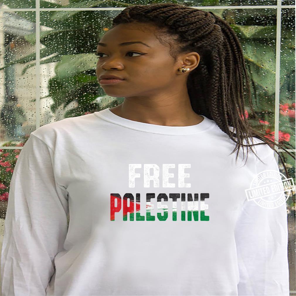 Free Palestine and Shirt hoodie