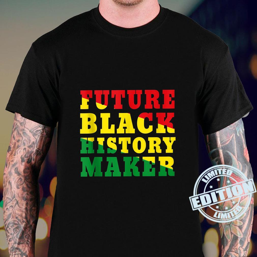 Future Black History Maker African Colors Black Excellence Shirt sweater