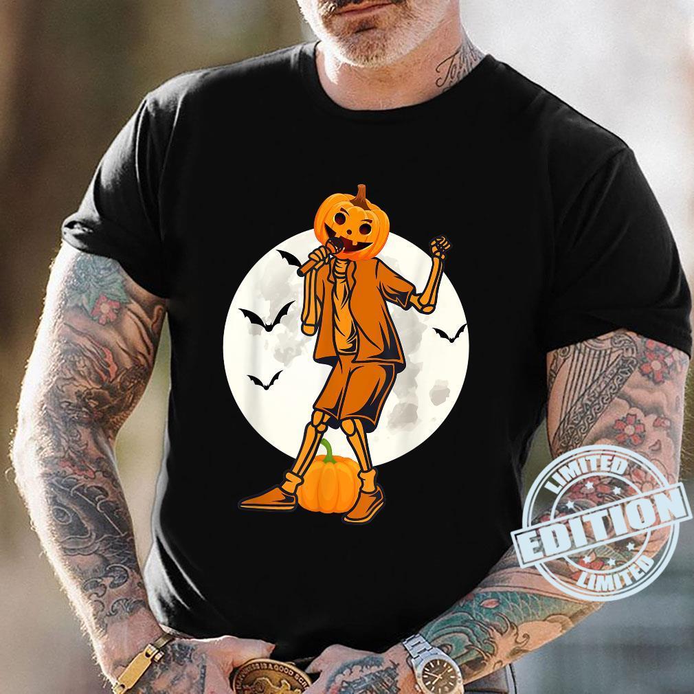 Halloween Day 2021 Cute Halloween Costume For Singer Pumpkin Shirt Masswerks Store