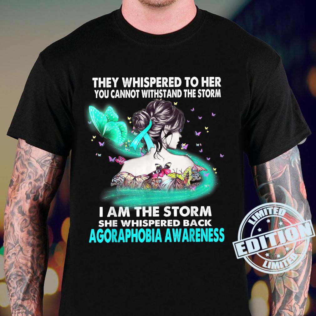 I Am The Storm Agoraphobia Aeness Shirt sweater