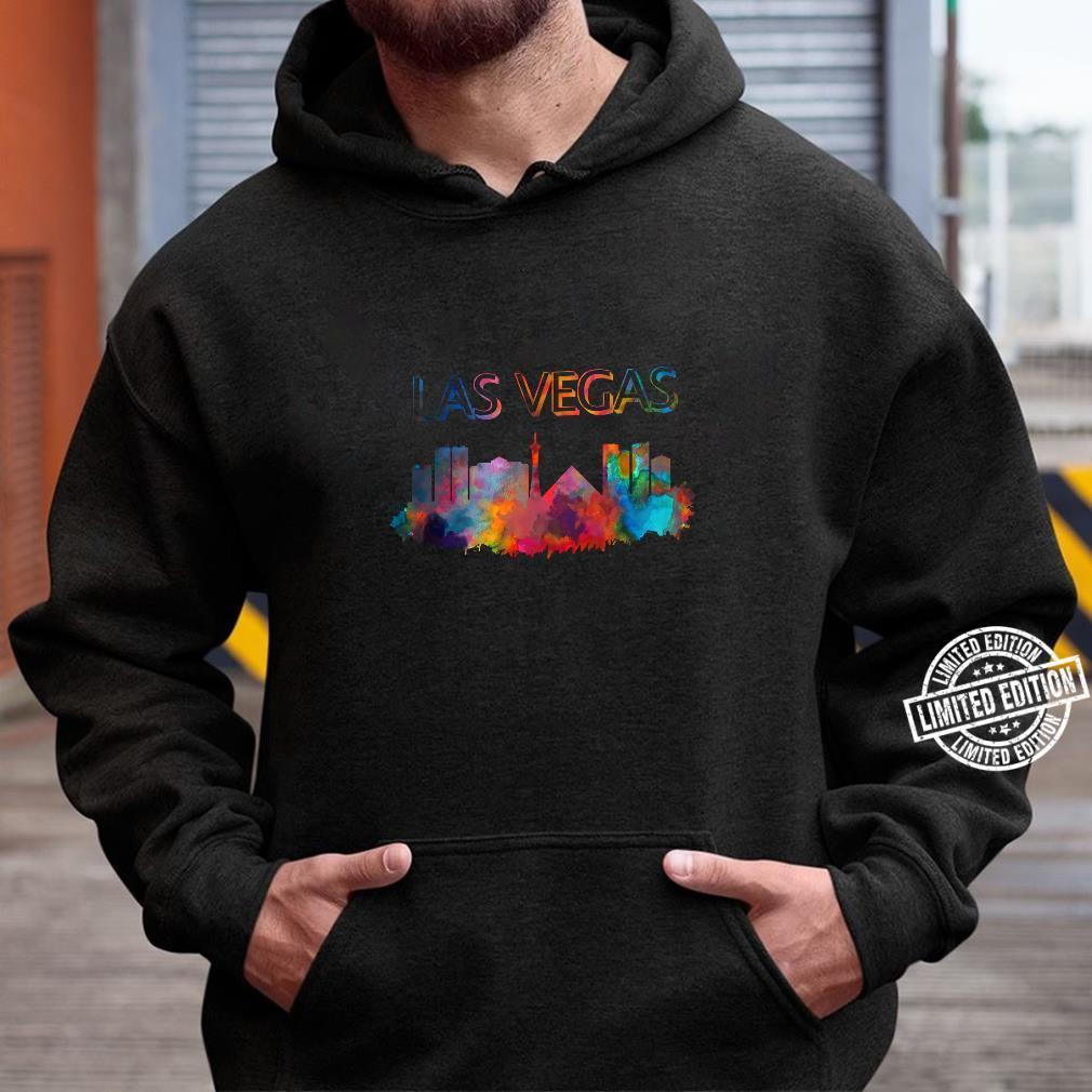 Las Vegas Skyline Cityscape City Metropole Shirt hoodie