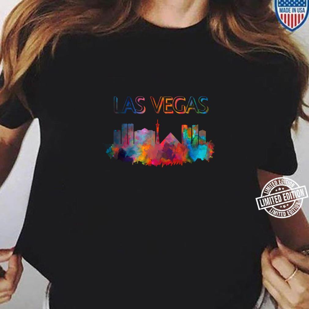 Las Vegas Skyline Cityscape City Metropole Shirt ladies tee