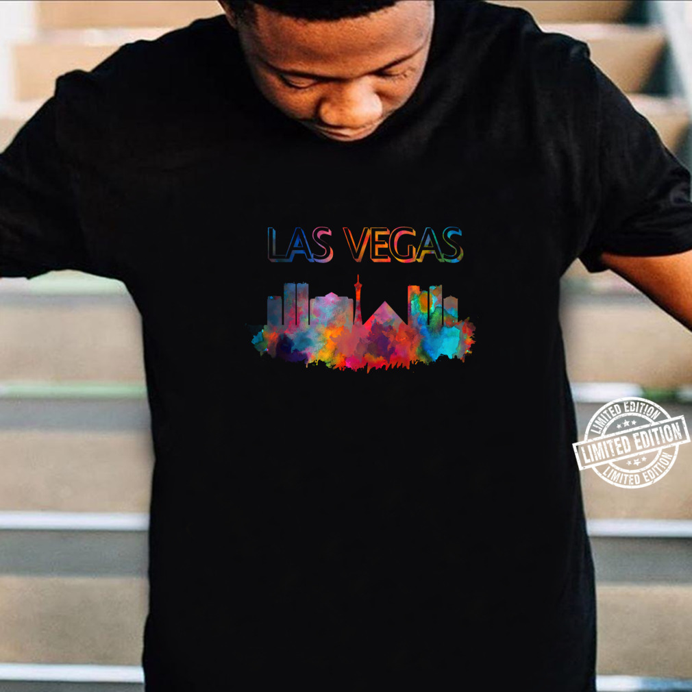 Las Vegas Skyline Cityscape City Metropole Shirt