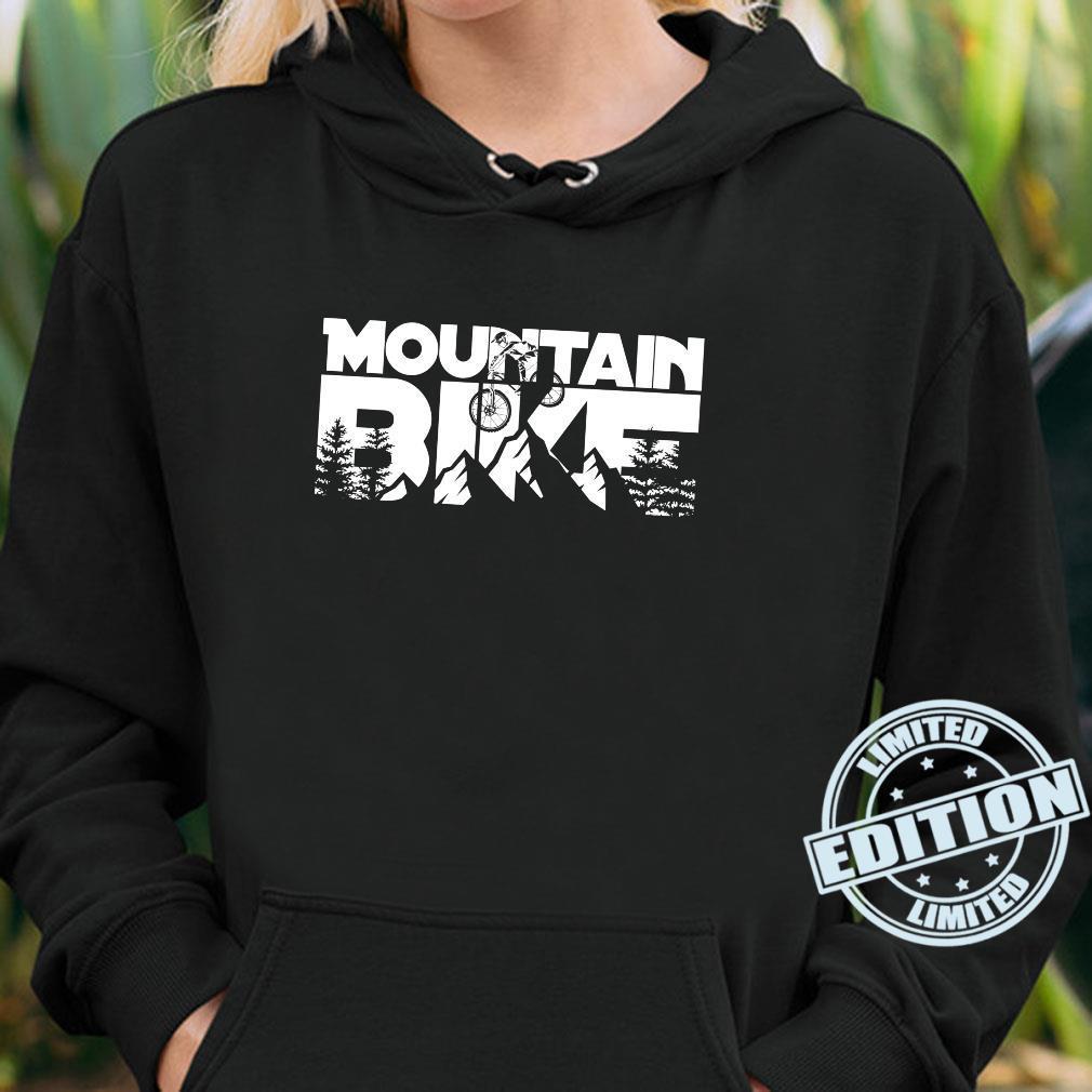 Mountainbike für Mountainbiker. Shirt hoodie