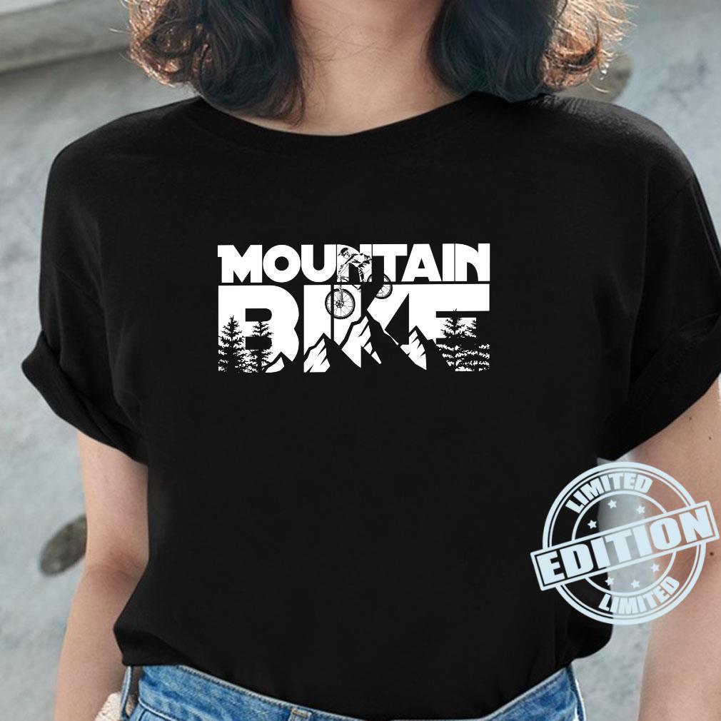 Mountainbike für Mountainbiker. Shirt ladies tee