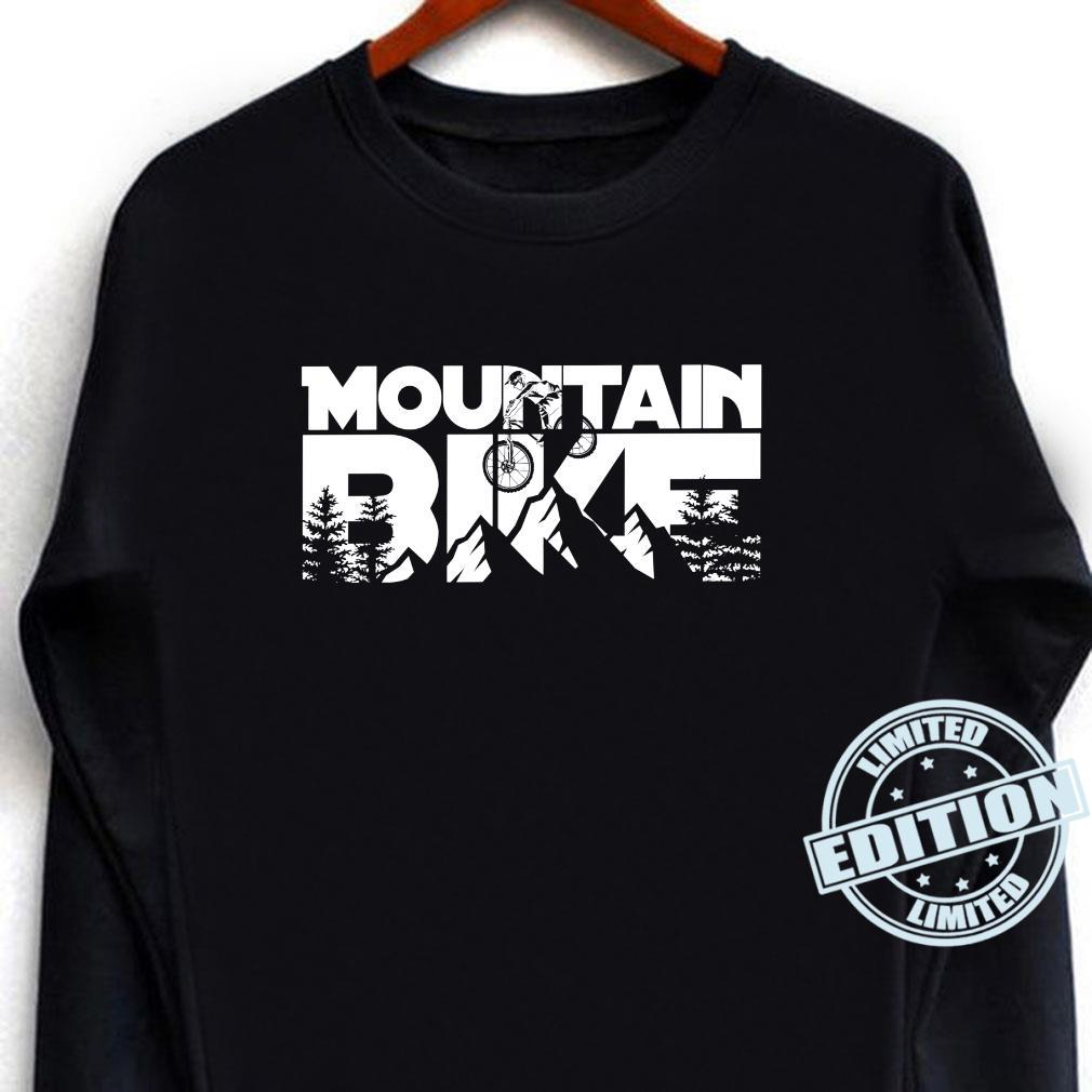 Mountainbike für Mountainbiker. Shirt long sleeved