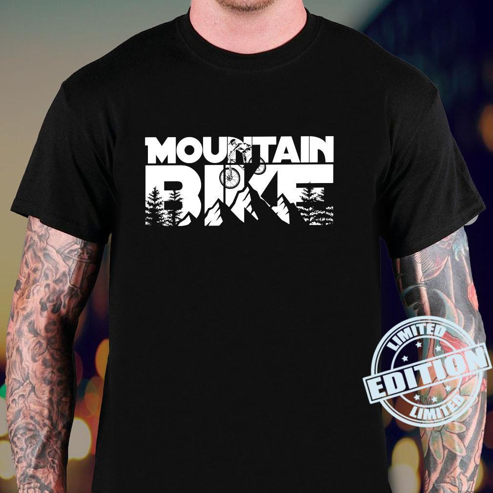 Mountainbike für Mountainbiker. Shirt sweater