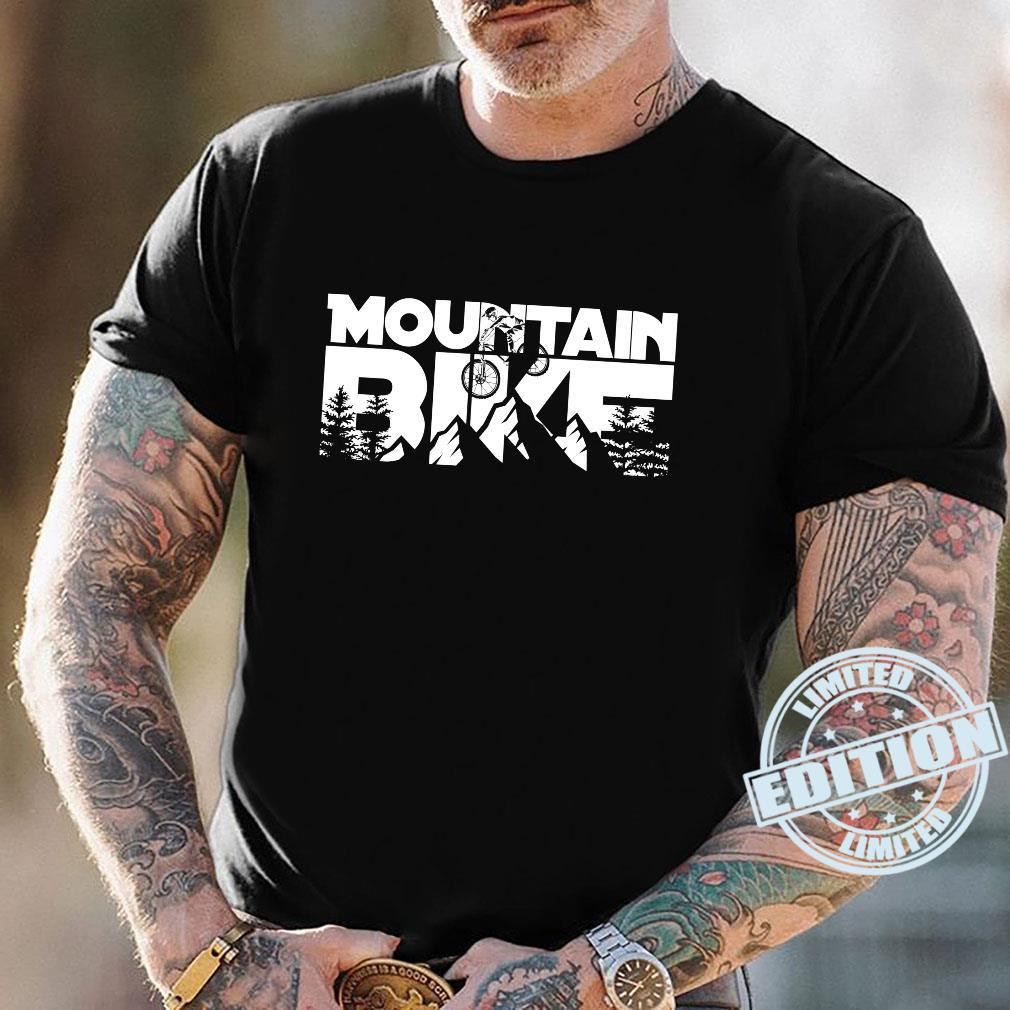 Mountainbike für Mountainbiker. Shirt