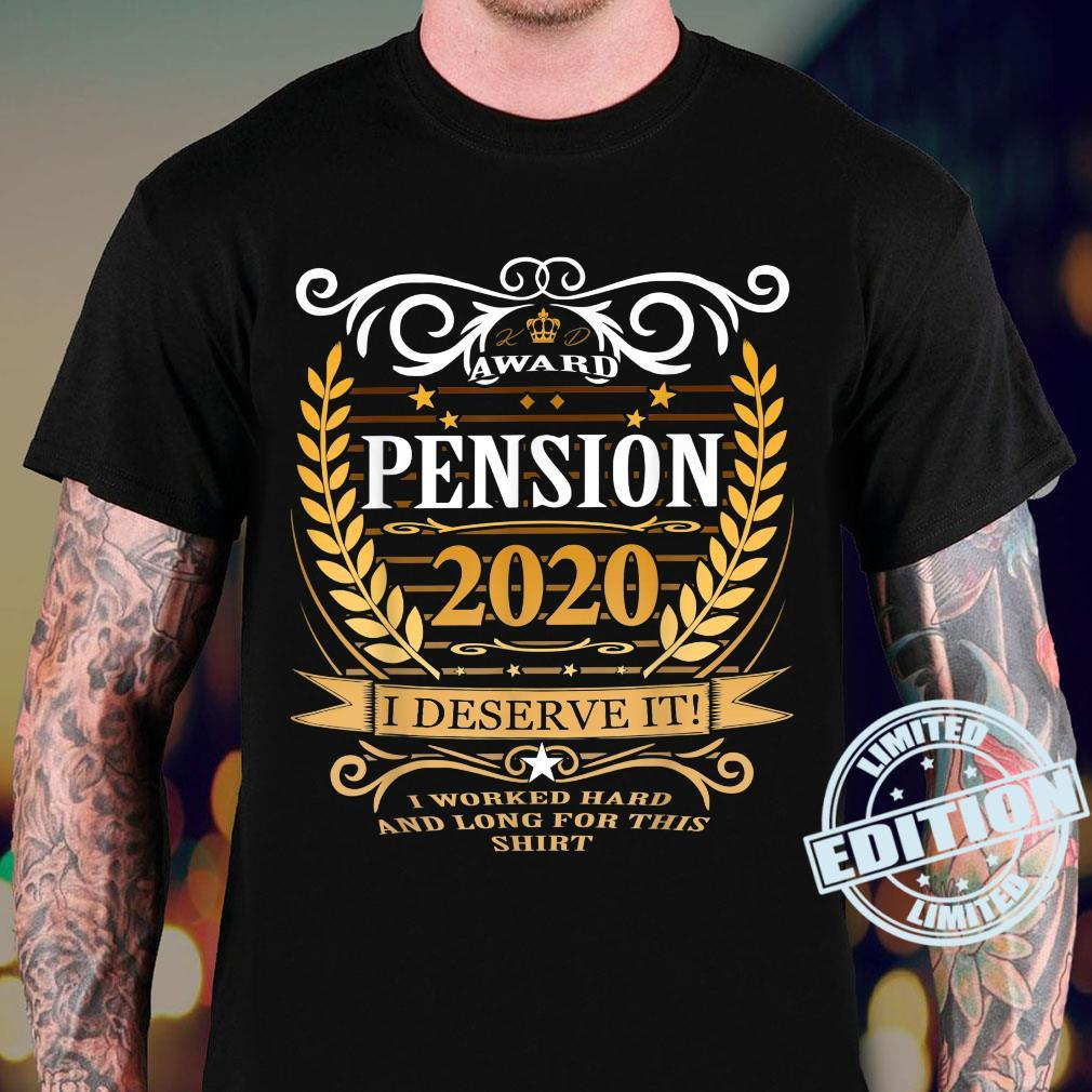Rentner 2020 Ruhestand Rente Geschenk Shirt sweater