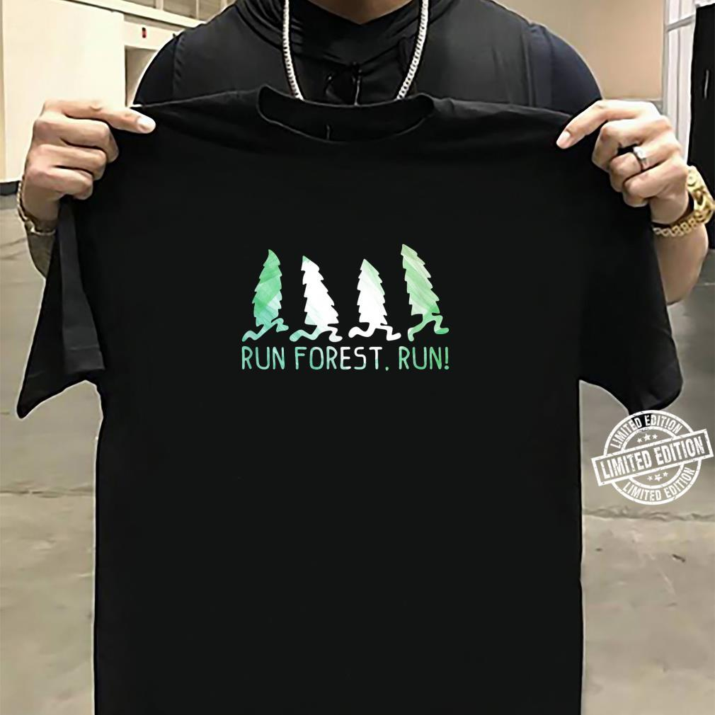 Run Forest Run Shirt Environmental Protection Shirt sweater