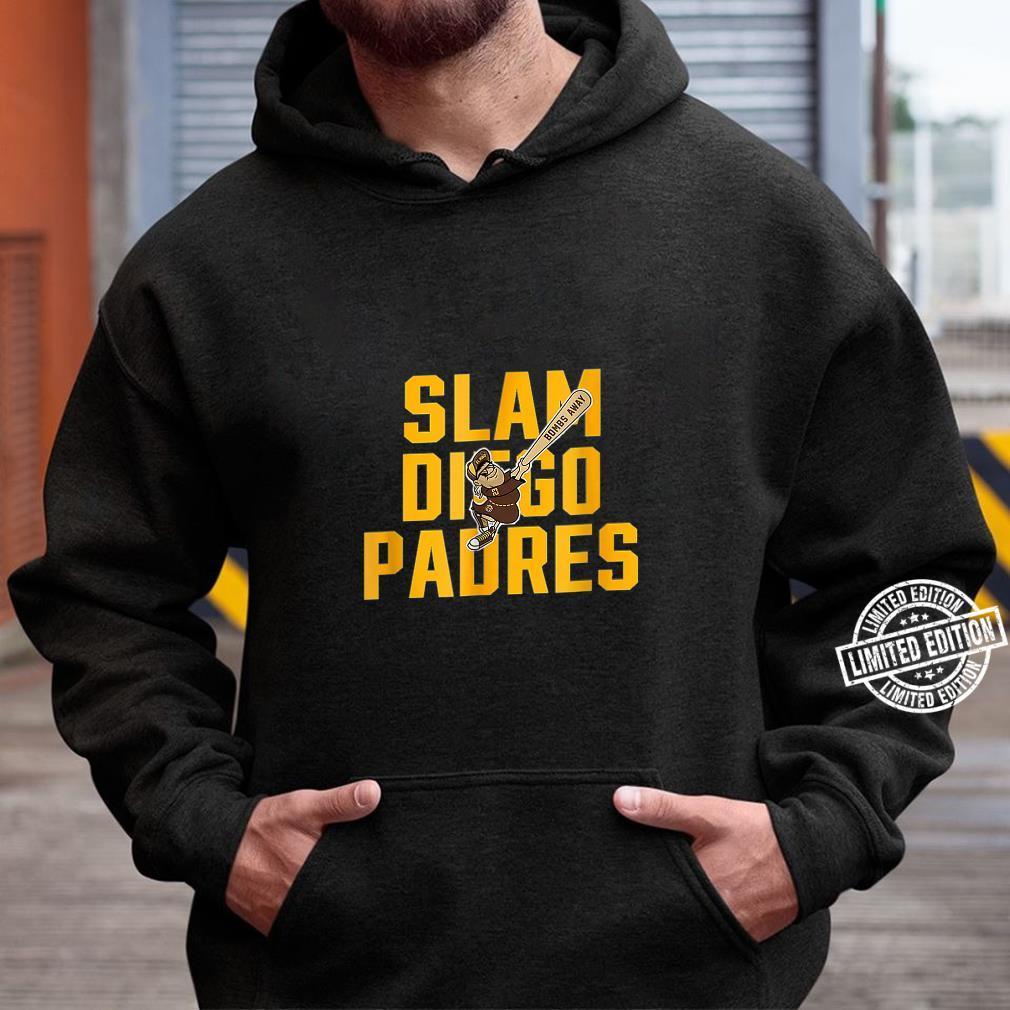 Slam diego padres Shirt hoodie