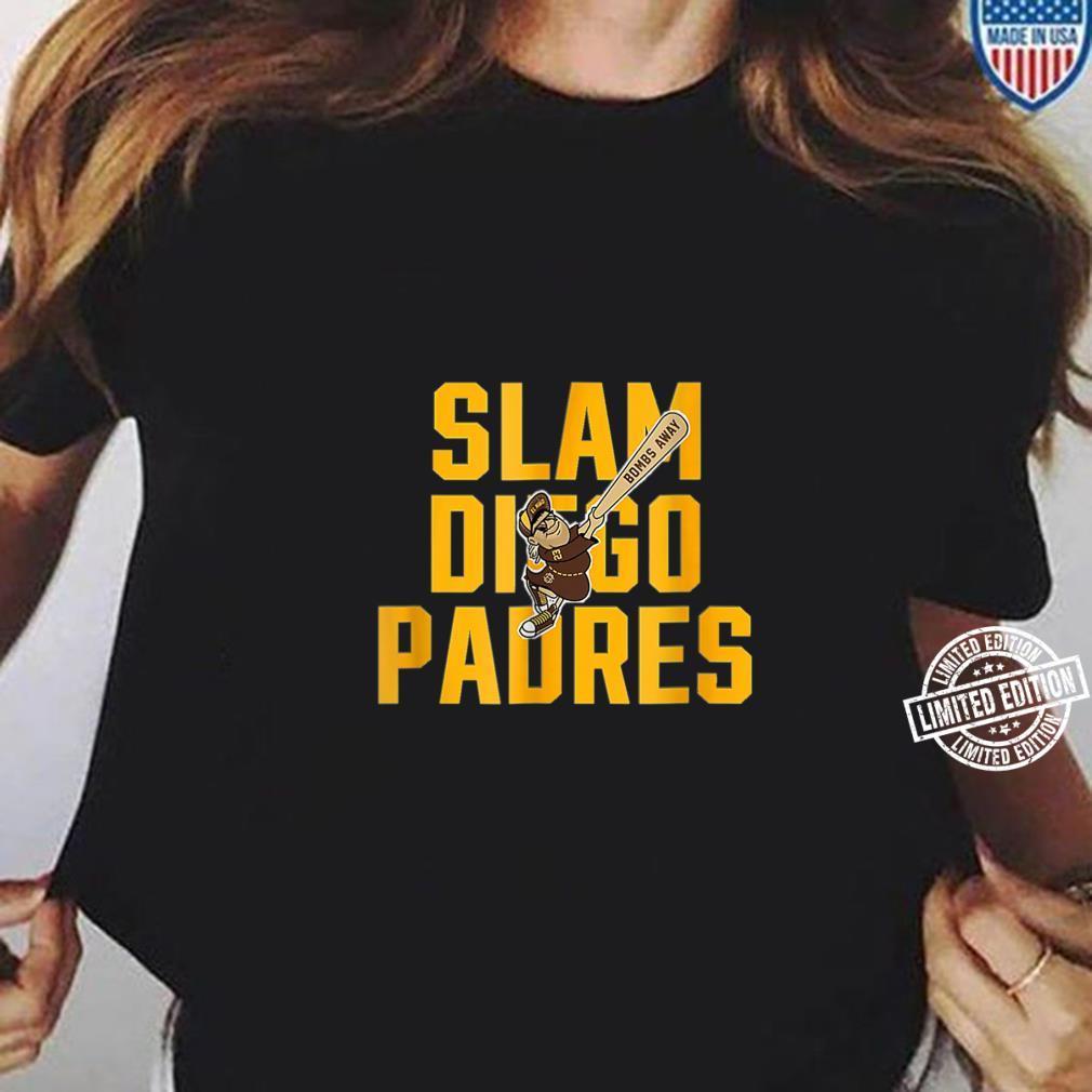 Slam diego padres Shirt ladies tee