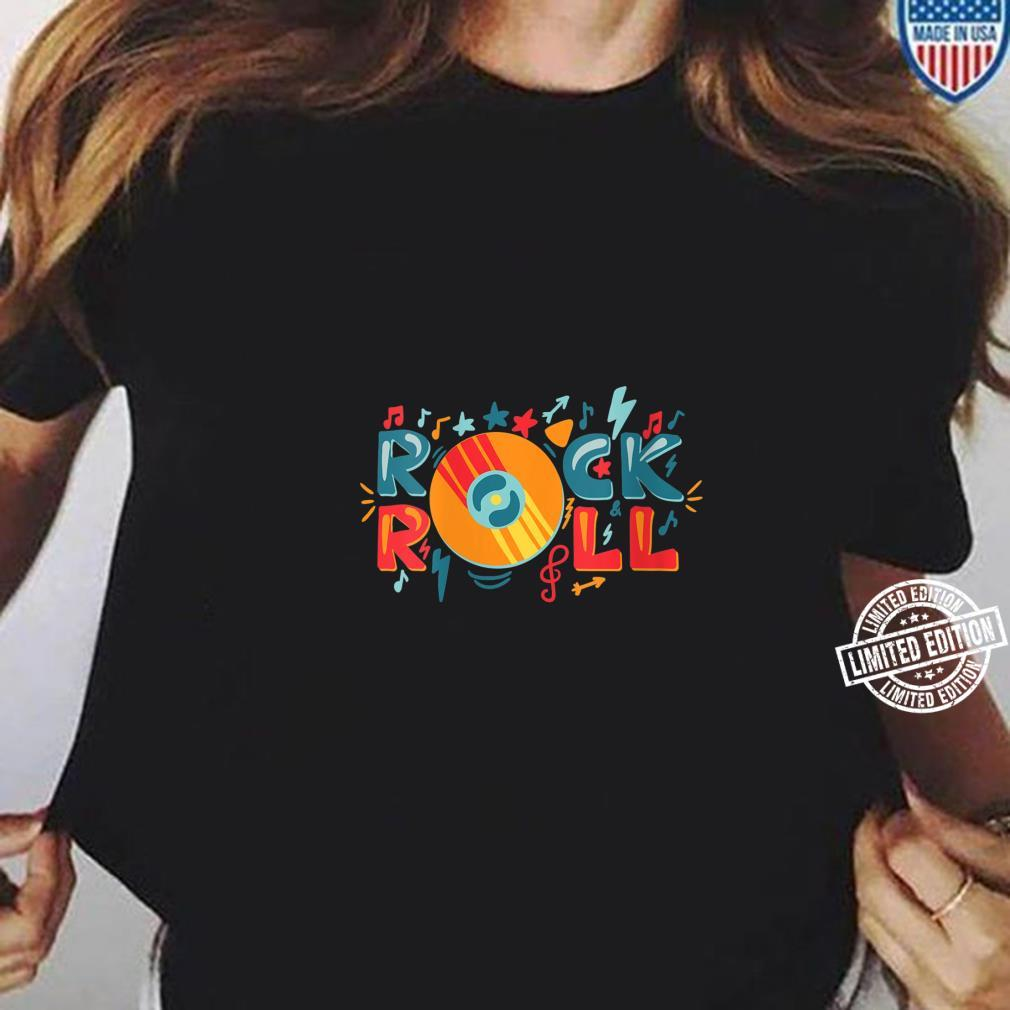 Womens Rock and Roll Shirt ladies tee