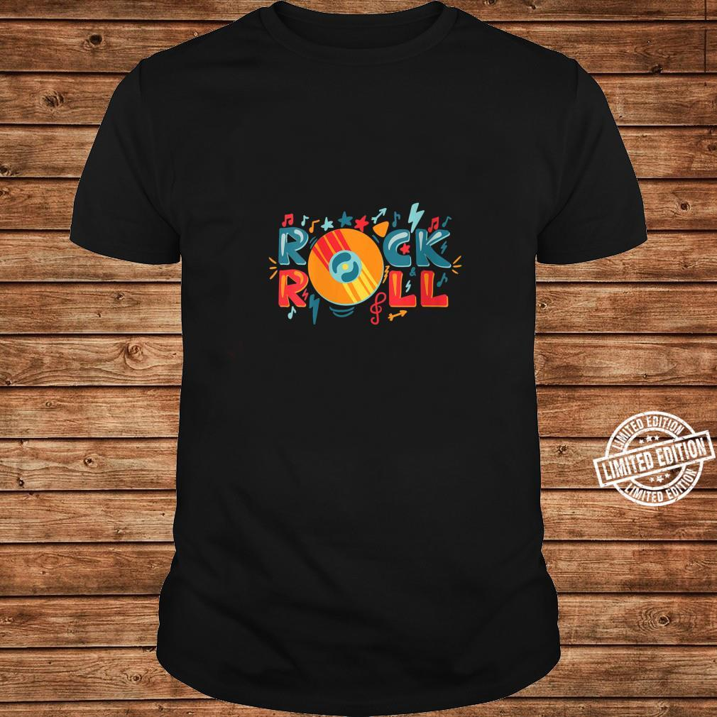 Womens Rock and Roll Shirt long sleeved